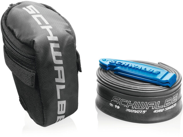 SCHWALBE Puncture Repair Kit No.19 Including SV19 Hose and 2 Tire Levers